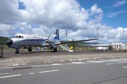 平凡なおっちゃんさんが、但馬空港で撮影したエアーニッポン YS-11A-500Rの航空フォト(飛行機 写真・画像)