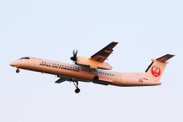 khideさんが、伊丹空港で撮影した日本エアコミューター DHC-8-402Q Dash 8の航空フォト(飛行機 写真・画像)