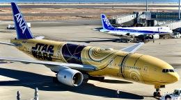 はやさんが、羽田空港で撮影した全日空 777-281/ERの航空フォト(飛行機 写真・画像)