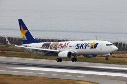 khideさんが、神戸空港で撮影したスカイマーク 737-86Nの航空フォト(飛行機 写真・画像)