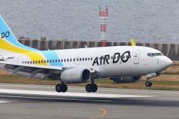 khideさんが、神戸空港で撮影したAIR DO 737-781の航空フォト(飛行機 写真・画像)