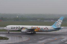 khideさんが、新千歳空港で撮影したAIR DO 767-381の航空フォト(飛行機 写真・画像)
