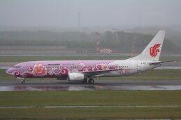 khideさんが、新千歳空港で撮影した中国国際航空 737-86Nの航空フォト(飛行機 写真・画像)