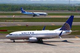 khideさんが、新千歳空港で撮影したユナイテッド航空 737-724の航空フォト(飛行機 写真・画像)