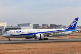 いっくんさんが、伊丹空港で撮影した全日空 787-9の航空フォト(飛行機 写真・画像)