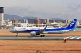 いっくんさんが、伊丹空港で撮影した全日空 A321-272Nの航空フォト(飛行機 写真・画像)