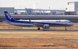 CL&CLさんが、羽田空港で撮影した全日空 A321-272Nの航空フォト(飛行機 写真・画像)