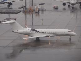 FT51ANさんが、羽田空港で撮影したウィルミントン・トラスト・カンパニー BD-700-1A10 Global Expressの航空フォト(飛行機 写真・画像)
