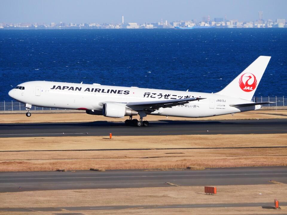 mich_stoneさんの日本航空 Boeing 767-300 (JA613J) 航空フォト