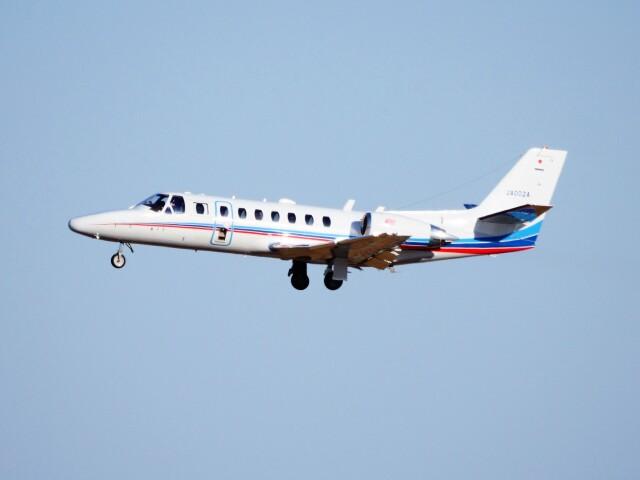 mich_stoneさんが、羽田空港で撮影した朝日新聞社 560 Citation Encoreの航空フォト(飛行機 写真・画像)