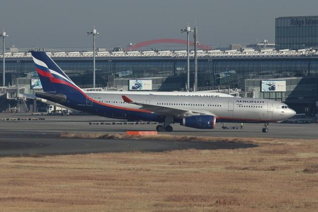 いんちゃんさんが、羽田空港で撮影したアエロフロート・ロシア航空 A330-243の航空フォト(飛行機 写真・画像)