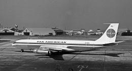 Y.Todaさんが、羽田空港で撮影したパンアメリカン航空 707-320Cの航空フォト(飛行機 写真・画像)