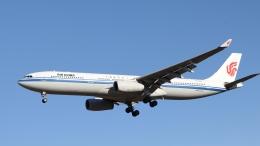 raichanさんが、成田国際空港で撮影した中国国際航空 A330-343Xの航空フォト(飛行機 写真・画像)