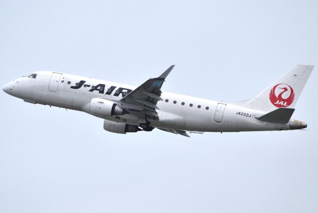 jun☆さんが、宮崎空港で撮影したジェイエア ERJ-170-100 (ERJ-170STD)の航空フォト(飛行機 写真・画像)