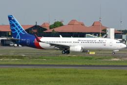 jun☆さんが、スカルノハッタ国際空港で撮影したスリウィジャヤ航空 737-8K5の航空フォト(飛行機 写真・画像)