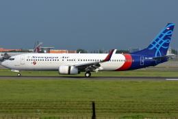 jun☆さんが、スカルノハッタ国際空港で撮影したスリウィジャヤ航空 737-8Q8の航空フォト(飛行機 写真・画像)