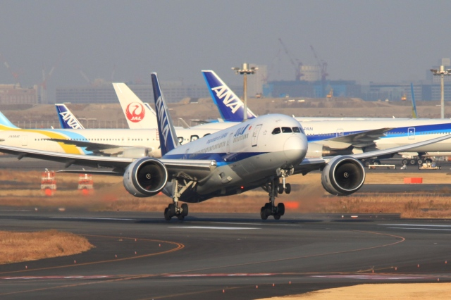 Hiro-hiroさんが、羽田空港で撮影した全日空 787-8 Dreamlinerの航空フォト(飛行機 写真・画像)