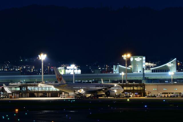 天心さんが、伊丹空港で撮影した日本航空 777-246/ERの航空フォト(飛行機 写真・画像)