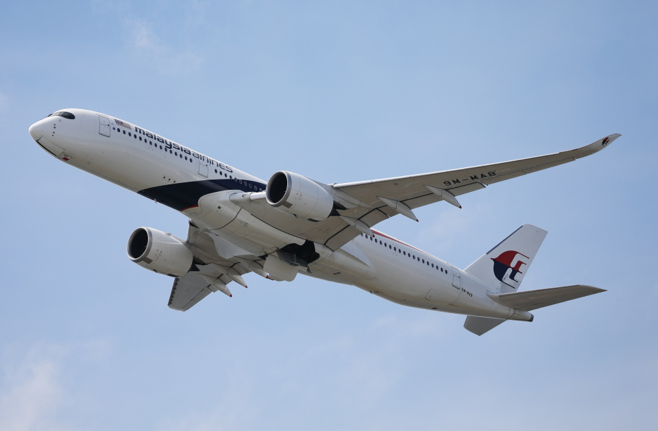 MOHICANさんのマレーシア航空 Airbus A350-900 (9M-MAB) 航空フォト