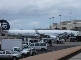 不揃いさんが、ダニエル・K・イノウエ国際空港で撮影したアラスカ航空 737-990/ERの航空フォト(飛行機 写真・画像)