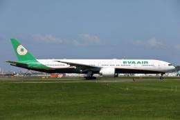 MOHICANさんが、福岡空港で撮影したエバー航空 777-35E/ERの航空フォト(飛行機 写真・画像)
