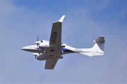 kumagorouさんが、仙台空港で撮影したアルファーアビエィション DA42 NG TwinStarの航空フォト(飛行機 写真・画像)