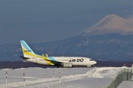 にしやんさんが、釧路空港で撮影したAIR DO 737-781の航空フォト(飛行機 写真・画像)