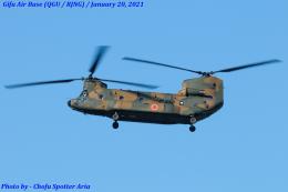 Chofu Spotter Ariaさんが、岐阜基地で撮影した陸上自衛隊 CH-47JAの航空フォト(飛行機 写真・画像)