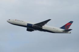 Y.Kさんが、羽田空港で撮影したデルタ航空 777-232/ERの航空フォト(飛行機 写真・画像)