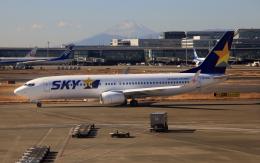 CL&CLさんが、羽田空港で撮影したスカイマーク 737-8ALの航空フォト(飛行機 写真・画像)