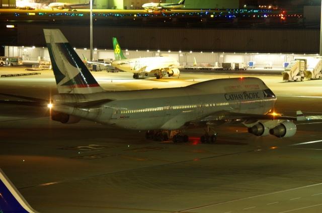 tasho0525さんが、羽田空港で撮影したキャセイパシフィック航空 747-412の航空フォト(飛行機 写真・画像)