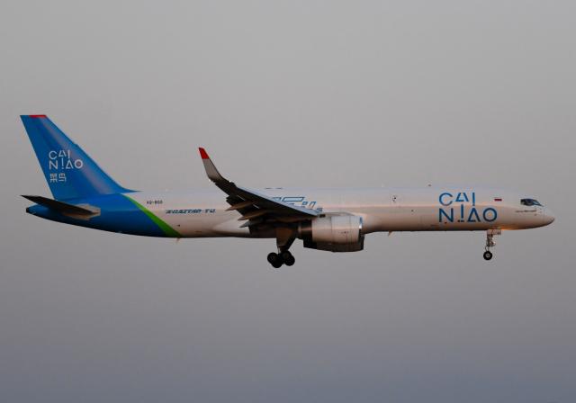 雲霧さんが、成田国際空港で撮影したアビアスター 757-223の航空フォト(飛行機 写真・画像)