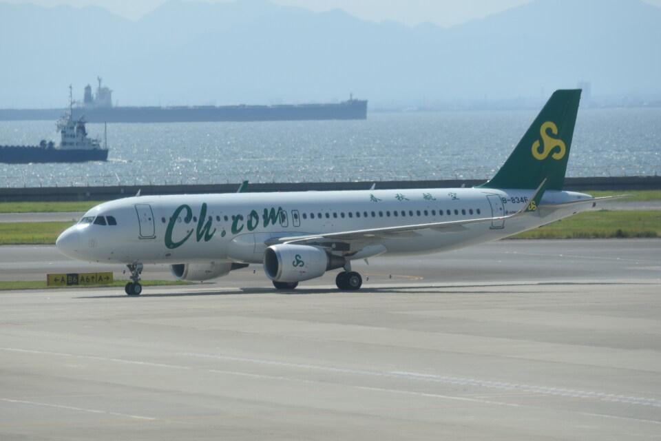 kumagorouさんの春秋航空 Airbus A320 (B-8346) 航空フォト