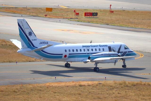 hanatomo735さんが、関西国際空港で撮影した海上保安庁 340B/Plus SAR-200の航空フォト(飛行機 写真・画像)