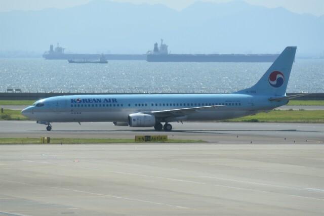 kumagorouさんが、中部国際空港で撮影した大韓航空 737-9B5の航空フォト(飛行機 写真・画像)