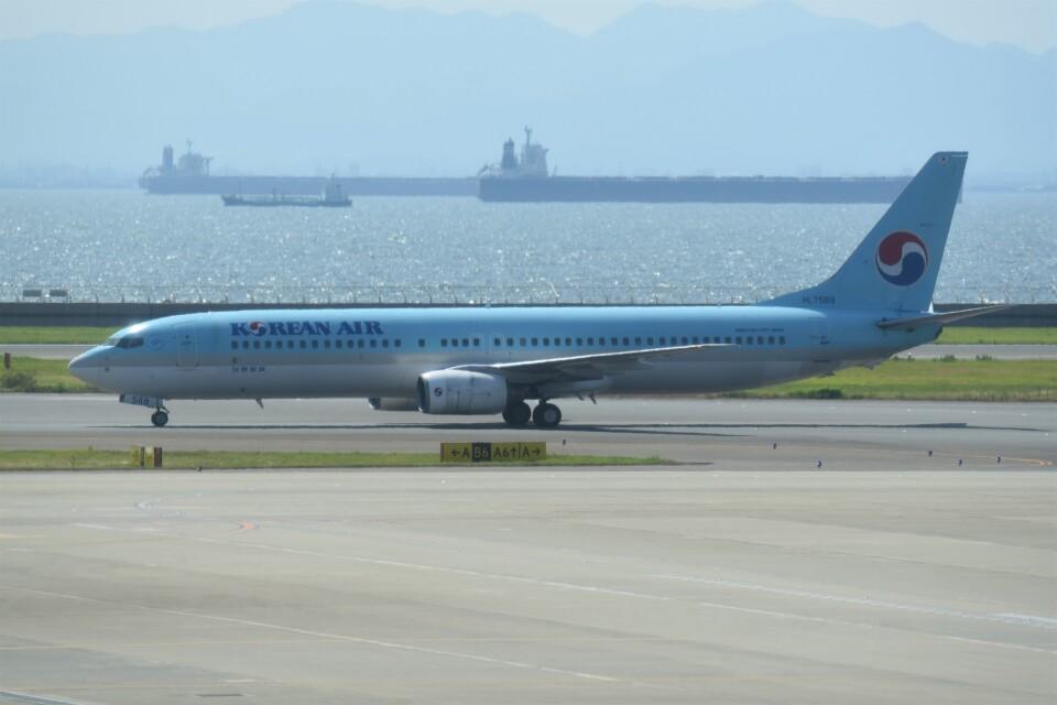 kumagorouさんの大韓航空 Boeing 737-900 (HL7569) 航空フォト