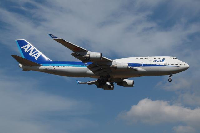 Deepさんが、成田国際空港で撮影した全日空 747-481の航空フォト(飛行機 写真・画像)