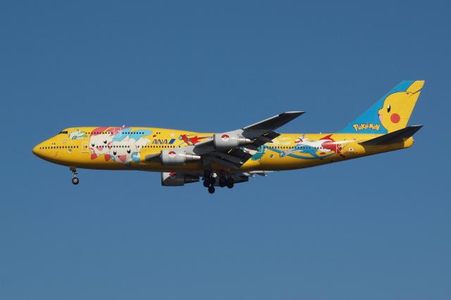 Deepさんが、羽田空港で撮影した全日空 747-481(D)の航空フォト(飛行機 写真・画像)