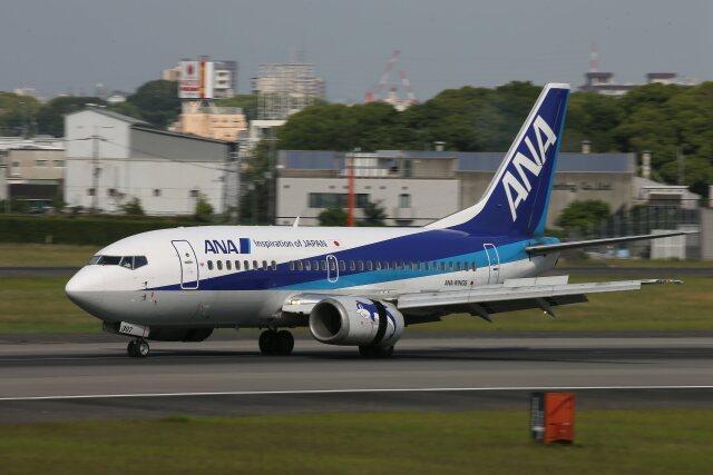 khideさんが、伊丹空港で撮影したANAウイングス 737-54Kの航空フォト(飛行機 写真・画像)
