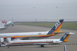 senyoさんが、羽田空港で撮影した日本エアシステム MD-81 (DC-9-81)の航空フォト(飛行機 写真・画像)
