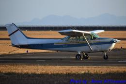 れんしさんが、山口宇部空港で撮影した新日本航空 172P Skyhawk IIの航空フォト(飛行機 写真・画像)
