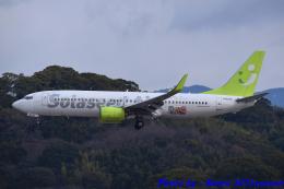 れんしさんが、福岡空港で撮影したソラシド エア 737-86Nの航空フォト(飛行機 写真・画像)
