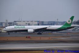 れんしさんが、福岡空港で撮影したエバー航空 777-36N/ERの航空フォト(飛行機 写真・画像)