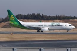 kinsanさんが、成田国際空港で撮影した春秋航空日本 737-8ALの航空フォト(飛行機 写真・画像)