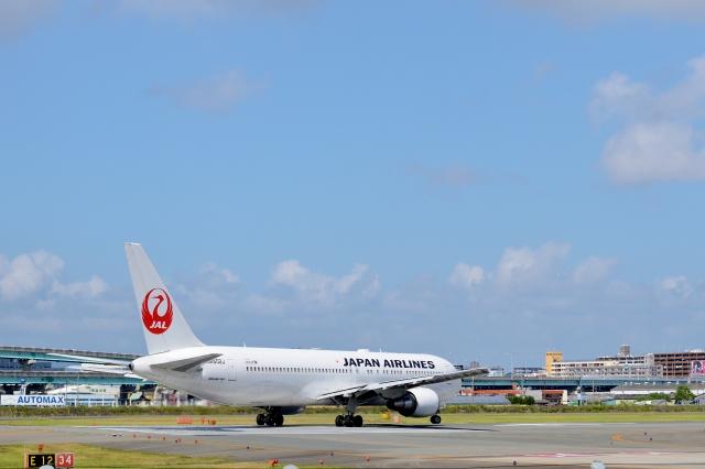 h_wajyaさんが、福岡空港で撮影した日本航空 767-346/ERの航空フォト(飛行機 写真・画像)