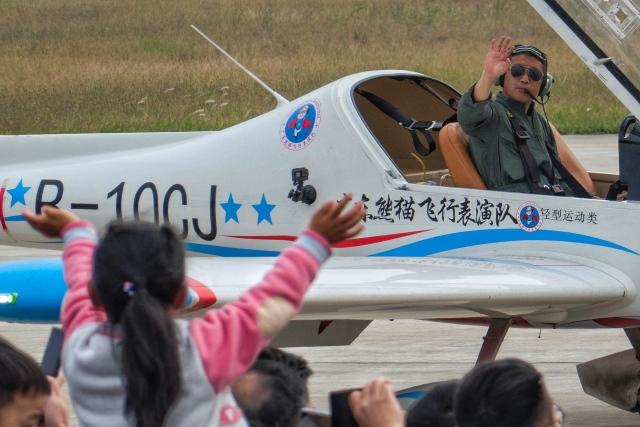 让开我先飞さんが、南昌瑶湖空港で撮影したオーロラの航空フォト(飛行機 写真・画像)