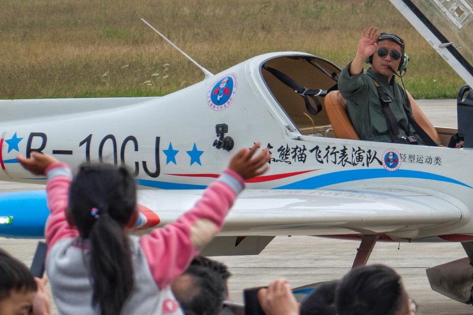 让开我先飞さんのオーロラ (B-10CJ) 航空フォト