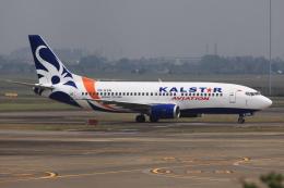 kinsanさんが、スカルノハッタ国際空港で撮影したカールスター・アヴィエーション 737-3M8の航空フォト(飛行機 写真・画像)
