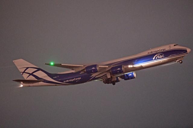 Souma2005さんが、成田国際空港で撮影したエアブリッジ・カーゴ・エアラインズ 747-8HVF(SCD)の航空フォト(飛行機 写真・画像)