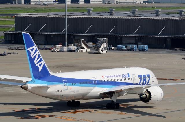 h_wajyaさんが、羽田空港で撮影した全日空 787-8 Dreamlinerの航空フォト(飛行機 写真・画像)